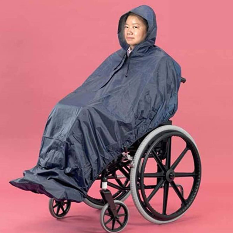 hooded-raincoat-for-weelchair-users