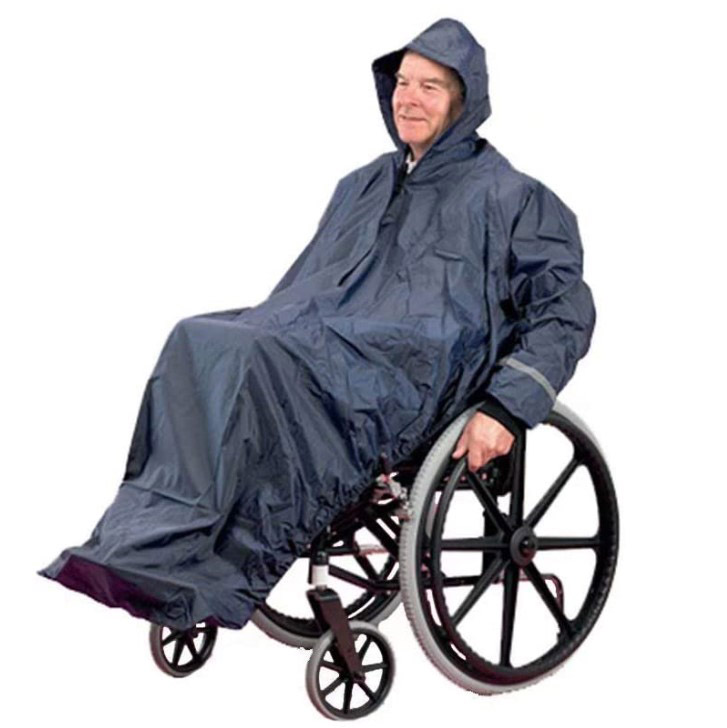 hooded-raincoat-with-sleeves-for-wheelchair-users